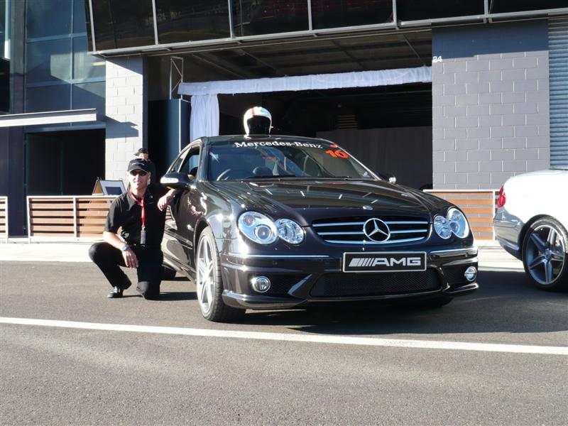 Mercedes Benz C63 AMG 2008 Launch - Bathurst - Click to enlarge